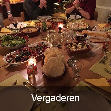 Eten en vergaderen Meemaken